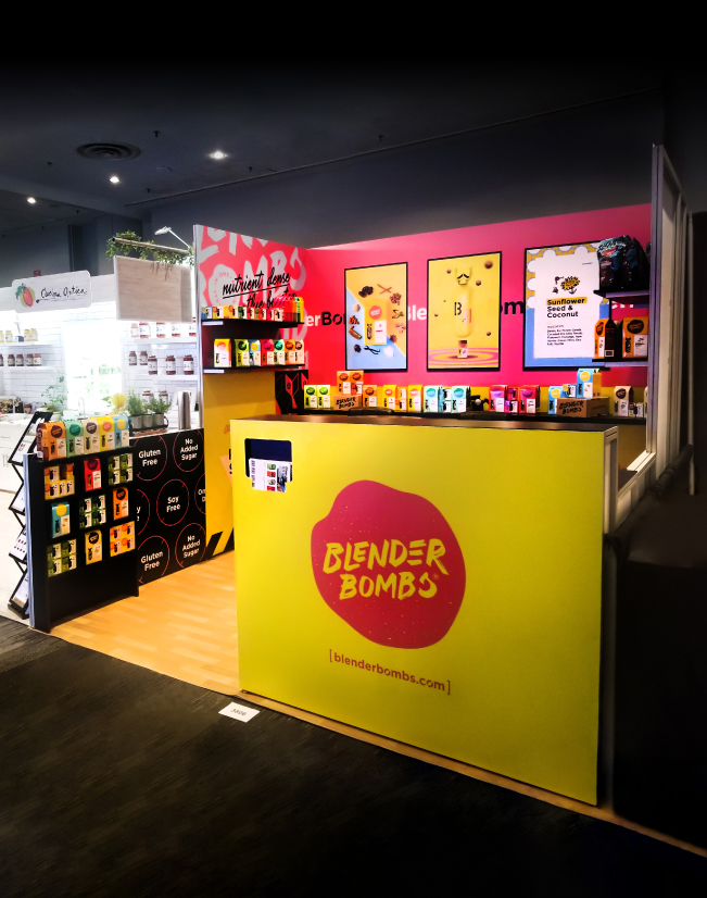 an image of the counter from the Blender Bombs activation